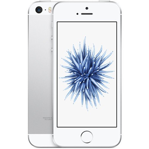 Apple 2016 iPhone SE SIMフリー 4インチ 16GB シルバー -SILVER A1723 海外正規品 [並行輸入品]