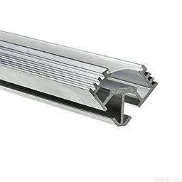 3.28 ft. Aluminum TAN-C5 Channel - For LED Tape Light - Klus B5391