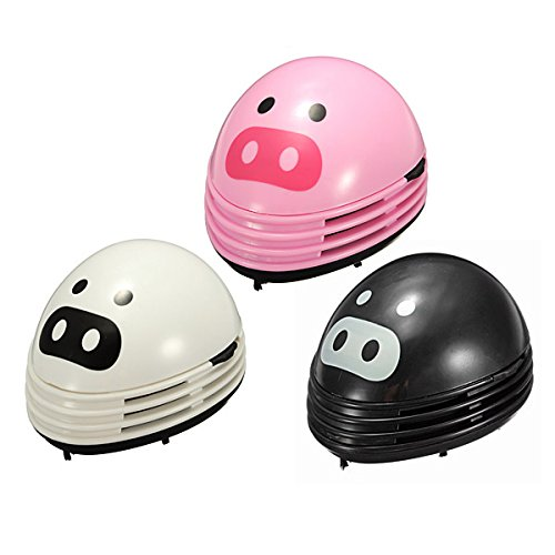 Mini Pig Desktop Desk Keyboard Vacuum Cleaner