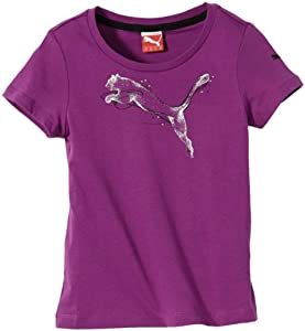 Puma FD Graphic T-Shirt fille Grape FR : 4 ans (Taille Fabricant : 104)
