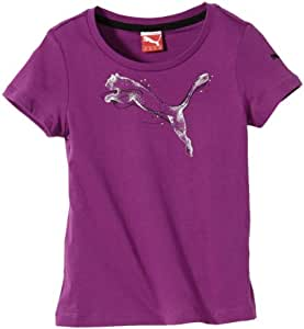 Puma FD Graphic T-Shirt fille Grape FR : 12 ans (Taille Fabricant : 152)