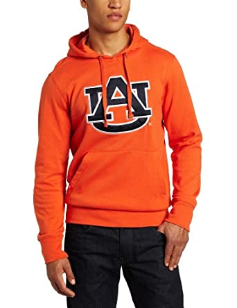 NCAA Auburn Tigers Applique Signature Hoodie Mens by Antigua