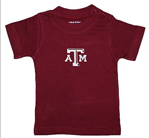 Texas A&M Aggies Crimson NCAA College Toddler Baby T-Shirt Tee