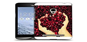 Snoogg Red Cherries Designer Protective Back Case Cover For ASUS ZENFONE 5