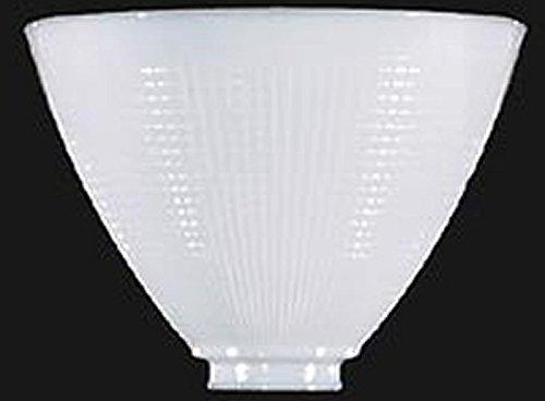 8 Inch Glass Floor Lamp Reflector Shade Glass