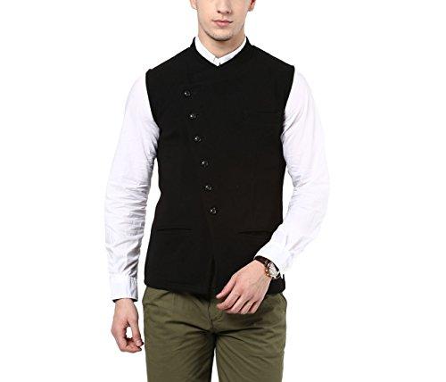 Hypernation-Black-Color-Cotton-Casual-Waistcost