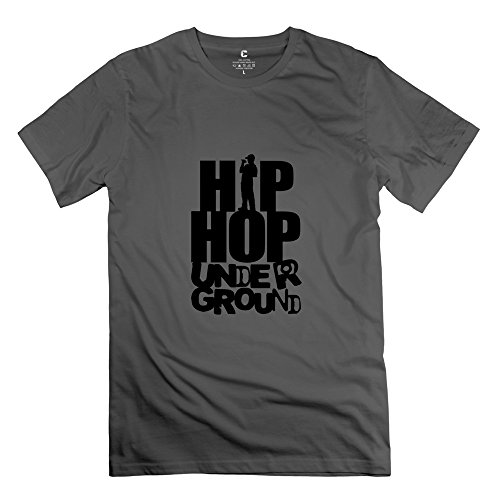 Ywt Hip Hop Underground Men'S T Shirts O Neck Style Deepheather