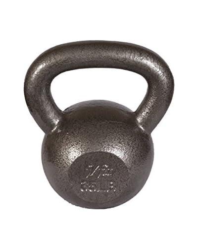 j/fit Cast Iron Kettlebell- 35Lb