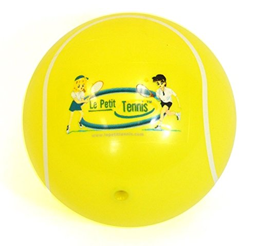 "Le Petit Tennis - My First Tennis Ball (6"" Inflatable Tennis Ball) for Ages 2-3-4-5-6"