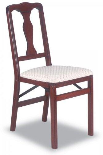 Folding Chair Cherry  35 5 h x 16 75 w x 19 25 dB0000TRN6A : image