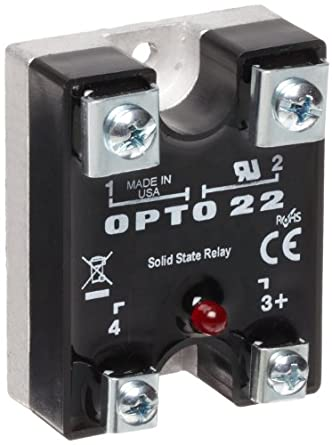 opto 22 240di10 dc control solid state relay with led. Black Bedroom Furniture Sets. Home Design Ideas
