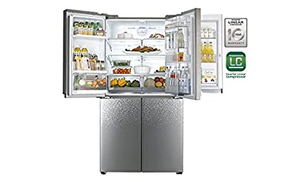 LG GR-M24FWAHL Frost-free Side-by-Side Refrigerator (725 Ltrs, Star Rating, Shiny Mosaic)