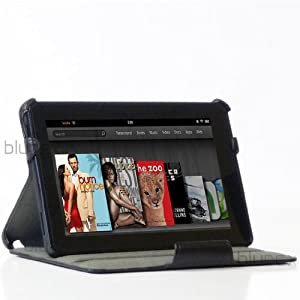 Kindle Fire Leather Slim Folio Case/Stand by BLUREX Reviews