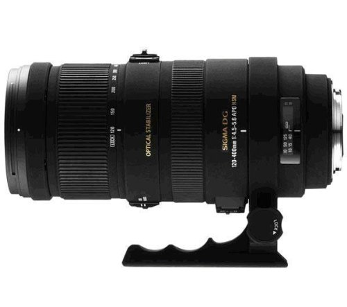 SIGMA Lenses for Canon - 120-400 mm F4.5-5.6 DG APO OS HSM Lens