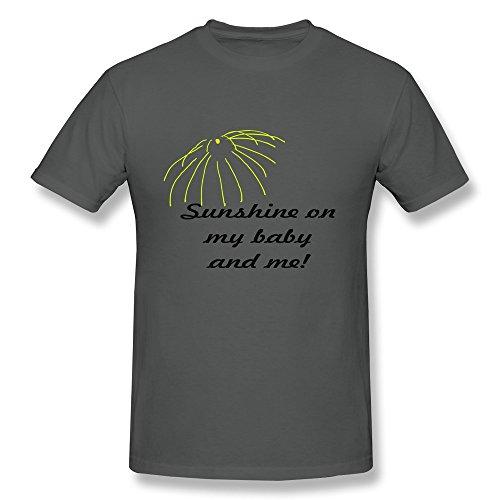 100% Cotton Blanket Sunshine Baby Me Tshirts For Men - Crew Neck front-680294