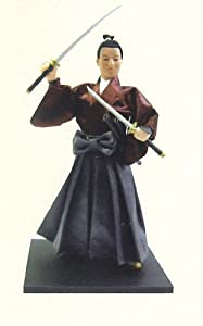 Authentic Japanese Samurai Figure Dolls: Miyamoto Musashi!!