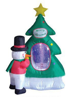 Christmas snowman outdoor inflatables christmas wikii for Motor for inflatable decoration