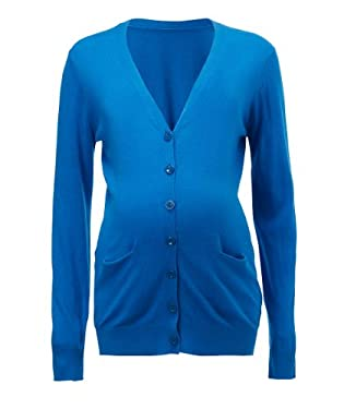 Blooming Marvellous Maternity Teal Fine Knit Cardigan