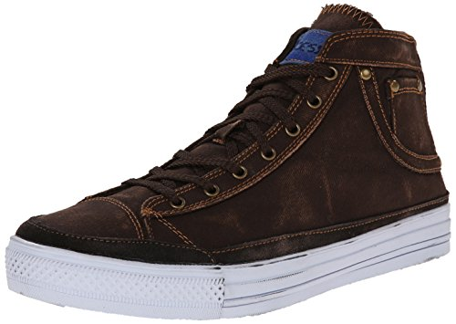 Joe's Jeans Men's Handy Fashion Sneaker, Brown, 9.5 M US