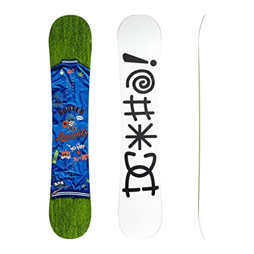 DC Men's PBJ Snowboard, Multi Color, 153