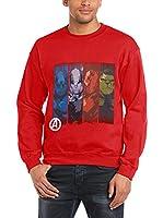 Marvel Sudadera (Rojo)