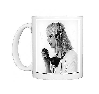 Photo Mug Of Hands-Free Telephone Set front-550498
