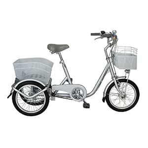 SWING CHARLIE(スイングチャーリー) ノーパンク ロータイプ 三輪自転車 内装3S MG-TRF163SWN シルバー
