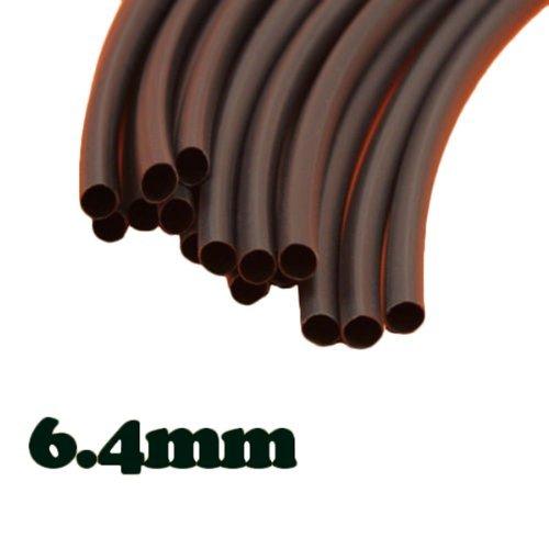 Water & Wood 5PCS Polyolefin Heat Shrink Tubing Tube Sleeve Sleeving Wrap 6.4mm 1.22m Metre