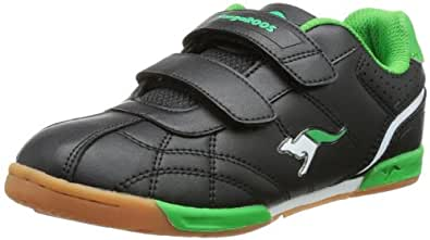 Kangaroos Hector Combo, Baskets mode mixte enfant - Noir (508 Black Green), 27 EU