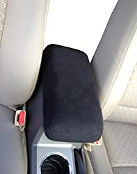 See TOYOTA RAV4 2015 Car (not pictured) SUV Truck Auto Center Console Armrest Cover Protects from Dirt and Damage Renews old damaged consoles- Black Details