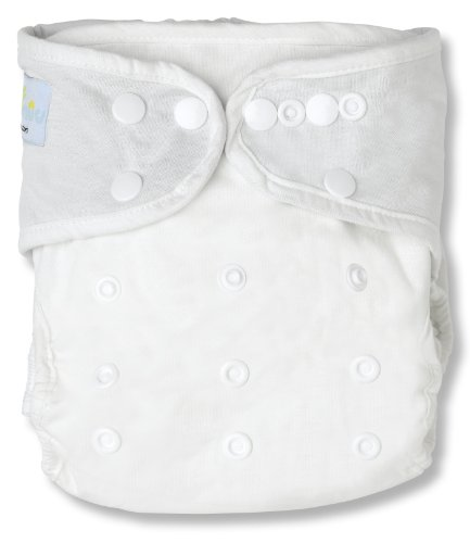 NatureSnug All-in-two Cloth Diaper Cover (White)