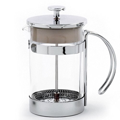 Sunnyfly 5574 French Coffee Press Tea Press Chrome 25Oz 5 Cup (25 Oz French Press compare prices)
