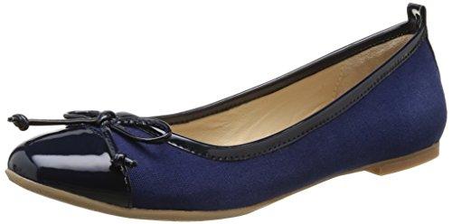 JB Martin  2 Bamako E15,  Ballerine donna Blu Bleu (T Navy/Tver Nuit) 36