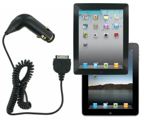 Kit In-Car Charger for Apple iPad / iPad 2 - Black