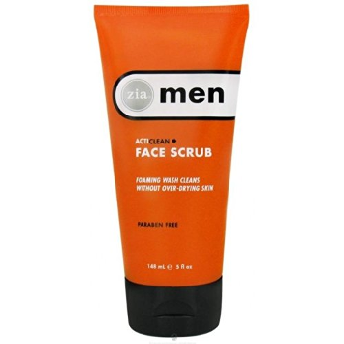 natural face scrub Zia Men