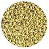 Sugar Balls Gold - 4mm (100g)