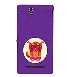 EPICCASE Innocent thing Mobile Back Case Cover For Sony Xperia C3 (Designer Case)