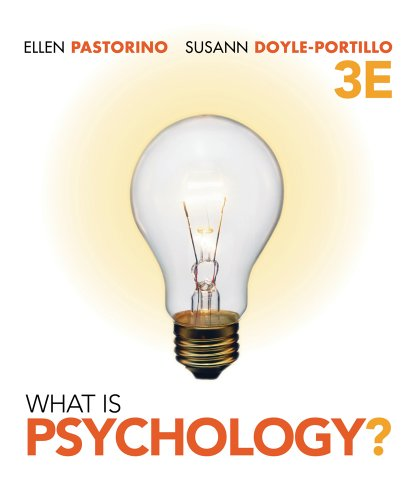 What Is Psychology? (Cengage Advantage Books)