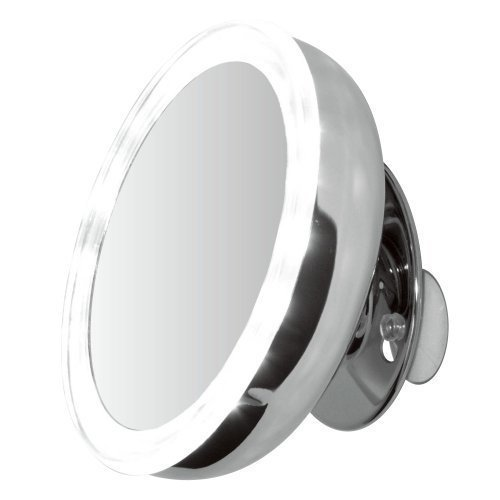 ClearView-Led-Illuminated-Suction-Mounted-5-Mirror-5X-Magnified-Battery-Operated-Chrome