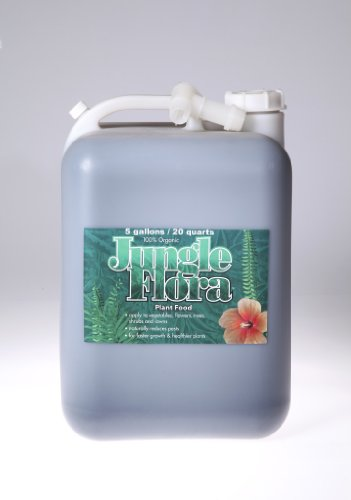 Jungle-Flora JF5GG Organic Indoor/Outdoor Plant Food 5-Gallon Concentrate