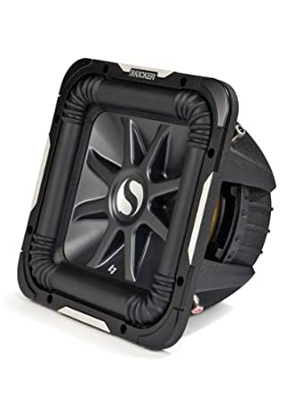 KICKER S12L74 Subwoofer carre 30cm double bobine 1500w