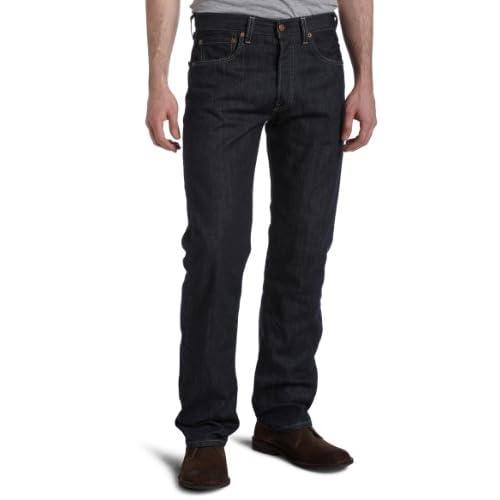 Levi's Men's 501 Original Fit Jean, Clean Rigid, 32x32