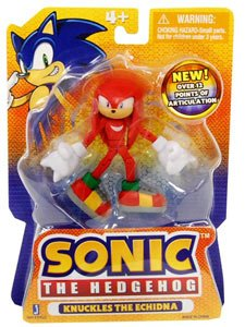 Picture of Zoofy International Sonic The Hedgehog 3 Inch Figure Knuckles (B005EN370S) (Zoofy International Action Figures)