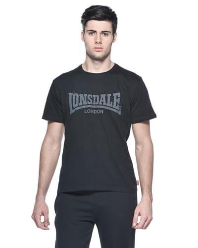 Lonsdale T-Shirt Manica Corta Vintage [Nero]