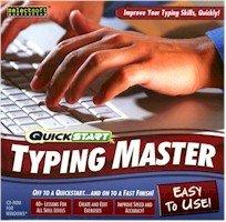 New Quickstart Typing Master Typing Pc Software Windows Xp Vista 8X Cd-Rom Drive Pentium 500 Mhz