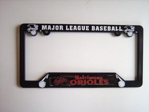 BALTIMORE ORIOLES LICENSE PLATE FRAME at Amazon.com