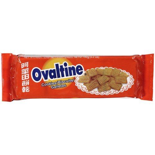 Ovaltine Biscuits, 8-Ounce Pack. Product of Jamaica