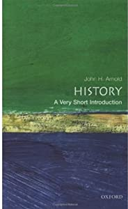 "Cover of ""History: A Very Short Introduct..."