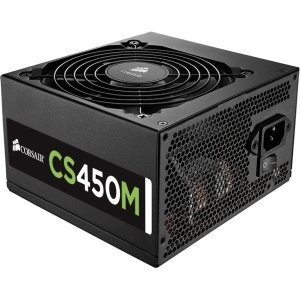 Corsair CP-9020075-NA CS Series Modular CS450M 450 Watt 80 PLUS Gold Certified Power Supply * Internal - 110 V AC, 220 V AC (Corsair Power Supply 450 compare prices)