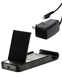 Samsung ET-CGPK004GSTA T-Mobile SGH-T989 Battery Charger with Stand - Charger - Retail Packaging - Black
